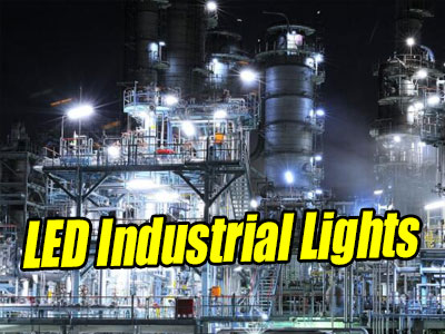 Warehouse and Industrial LED Flood Light Luminaires