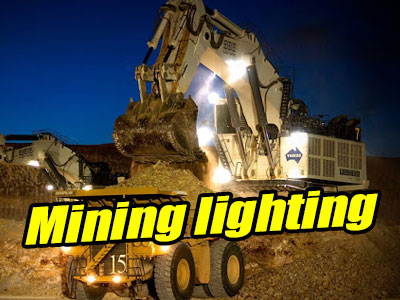 LED Luminaires for Mining Operations