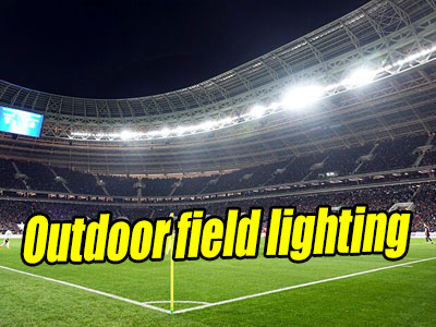 Outdoor Field and Court Lighting from MECREE LED
