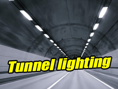 Tunnel Lighting with Effective LED Luminaires