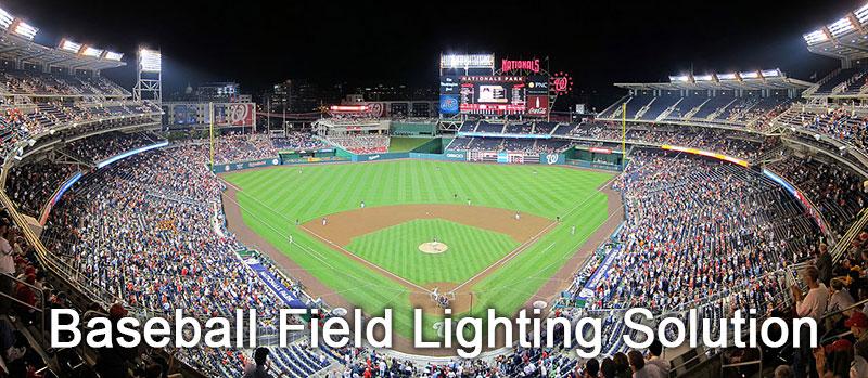 Baseball Field Lighting Solution