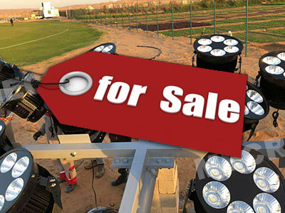 Football stadium lights for sale | Buy directly from the factory