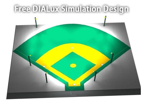 Free DIALux Simulation Design