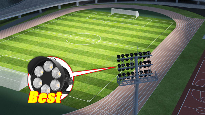 How to choose the best type of football stadium lighting