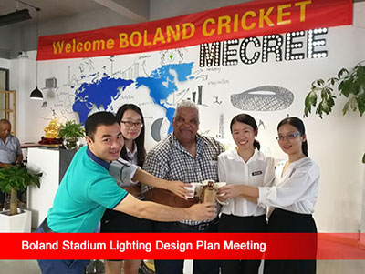 Reliability led football stadium lights