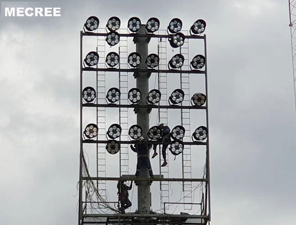 Save 50 installation cost led stadium lights football