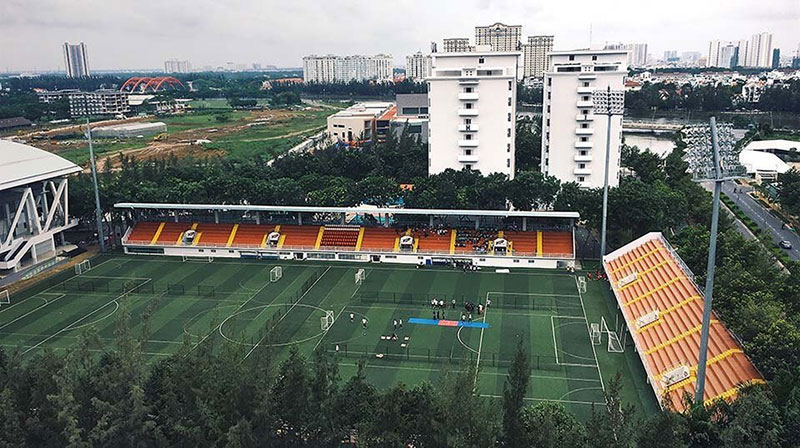 What is the installation cost of football floodlights