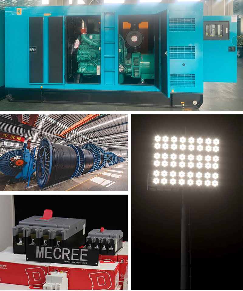 One stop service football stadium lights led outdoor
