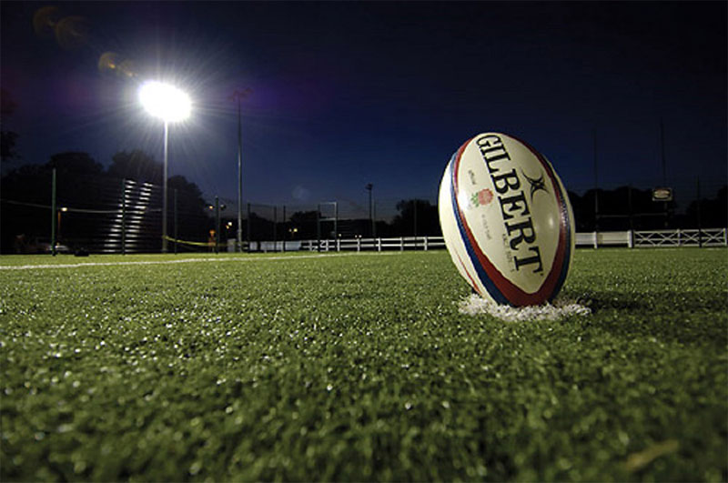 What's the rugby field lighting standard