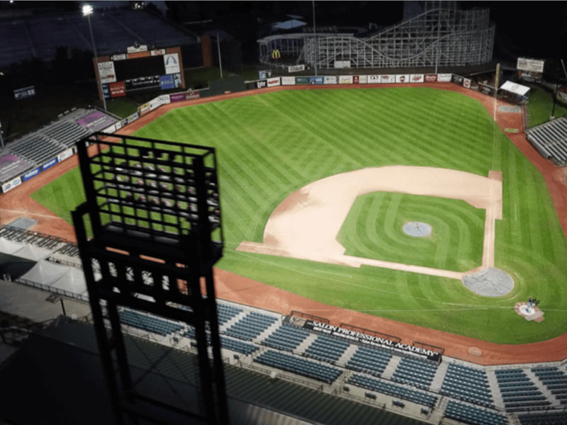What should we know about the baseball field light poles