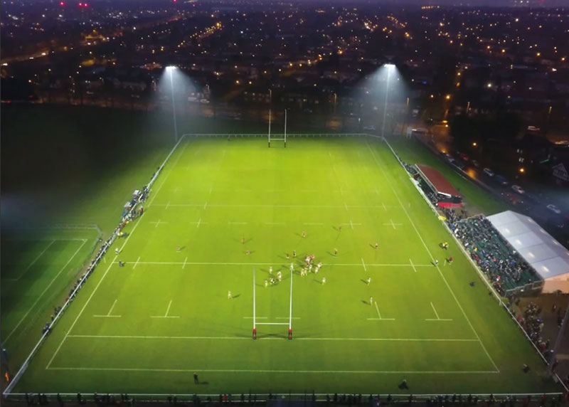 Why we choose LED stadium lights for rugby fields lighting