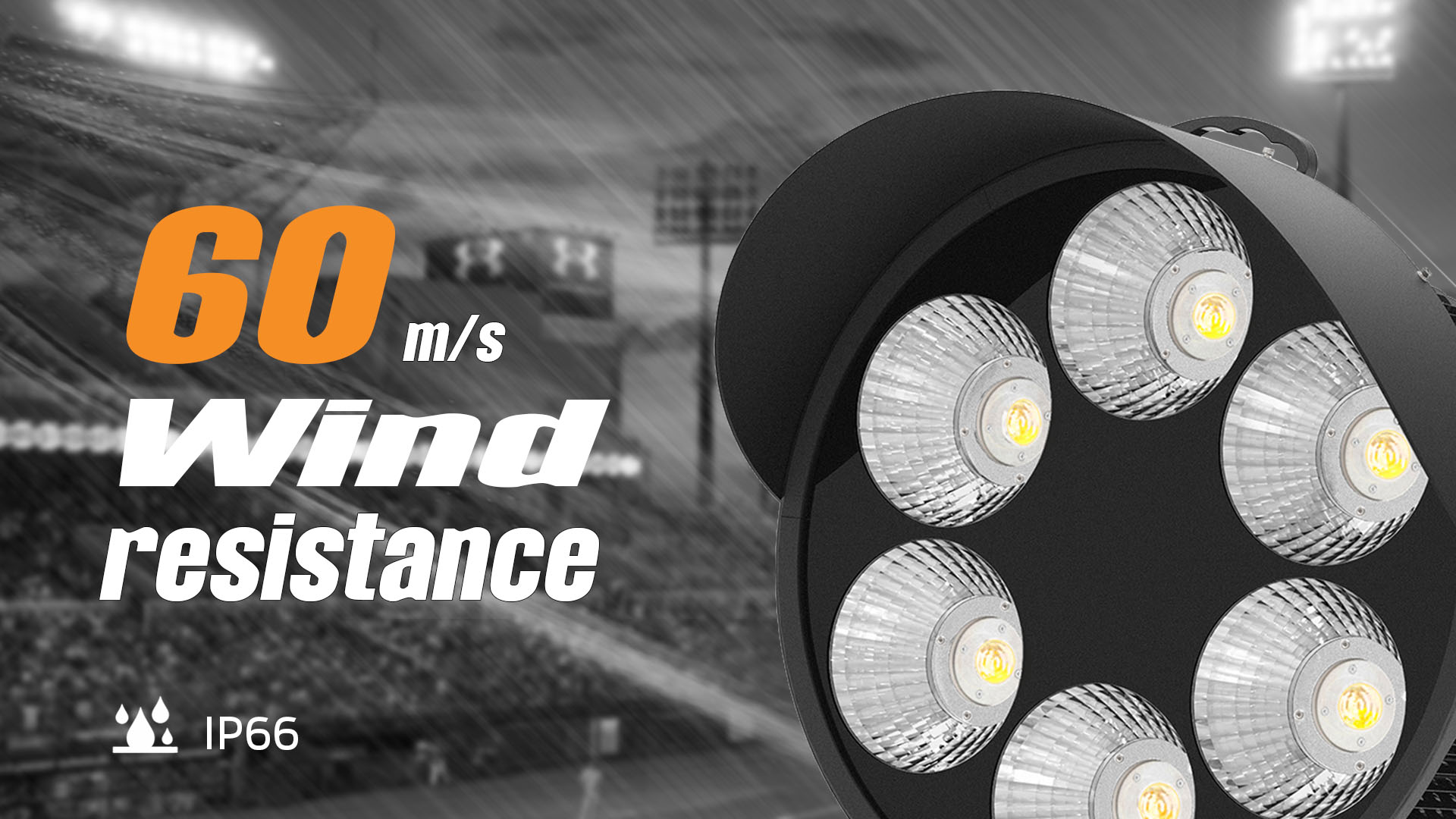 outdoor led stadium lights 1000w