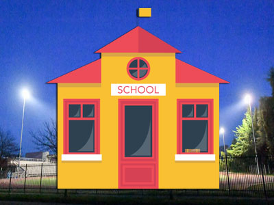 LED school and classroom lighting solutions